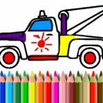 BTS Truck Coloring Book
