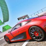 Crazy Car Stunts in Bionic World