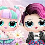 LOL Dolls Dress Up Salon