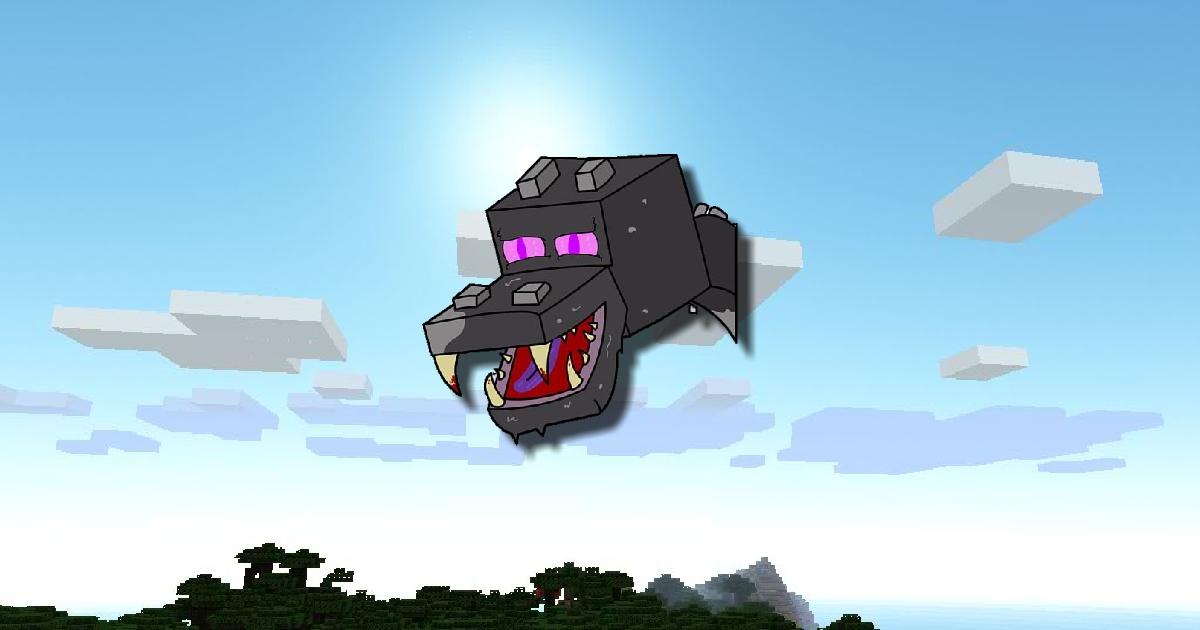 Image Minecraft Ender Dragon Challenge