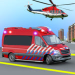 Ambulance Rescue Game Ambulance helicopter