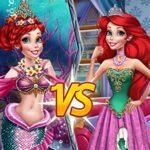 Ariel Princess Vs Mermaid