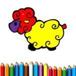 Baby Sheep Coloring Game