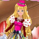 Barbie's Valentine's Patchwork Dress