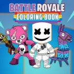Battle Royale Coloring Book