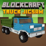 Blockcraft Truck Jigsaw
