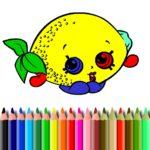 BTS Fruits Coloring Book
