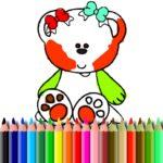 BTS Sweet Bear Coloring