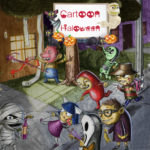 Cartoon Halloween Slide Puzzle