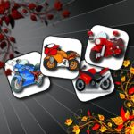 Cartoon Motorbikes Memory
