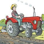 Cartoon Tractor Puzzle