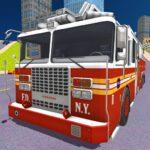 City Fire Truck Rescue
