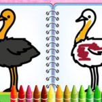 Coloring Birds Game