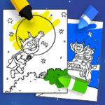 Coloring Dolfje Weerwolfje