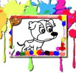 Dogs Coloring Book