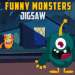 Funny Monsters Jigsaw