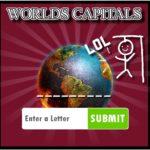 Hangman Capitals Cities