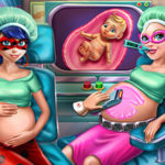 Hero BFFs Pregnant Check up