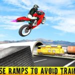 Highway Traffic Moto Stunt Racer Game