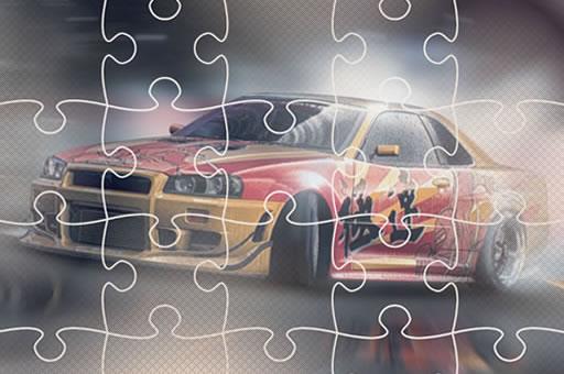 Image Japanese Racing Cars Jigsaw