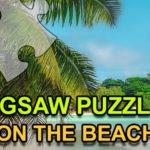 Jigsaw Puzzle On The Beach