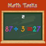 Math Tasks True or False