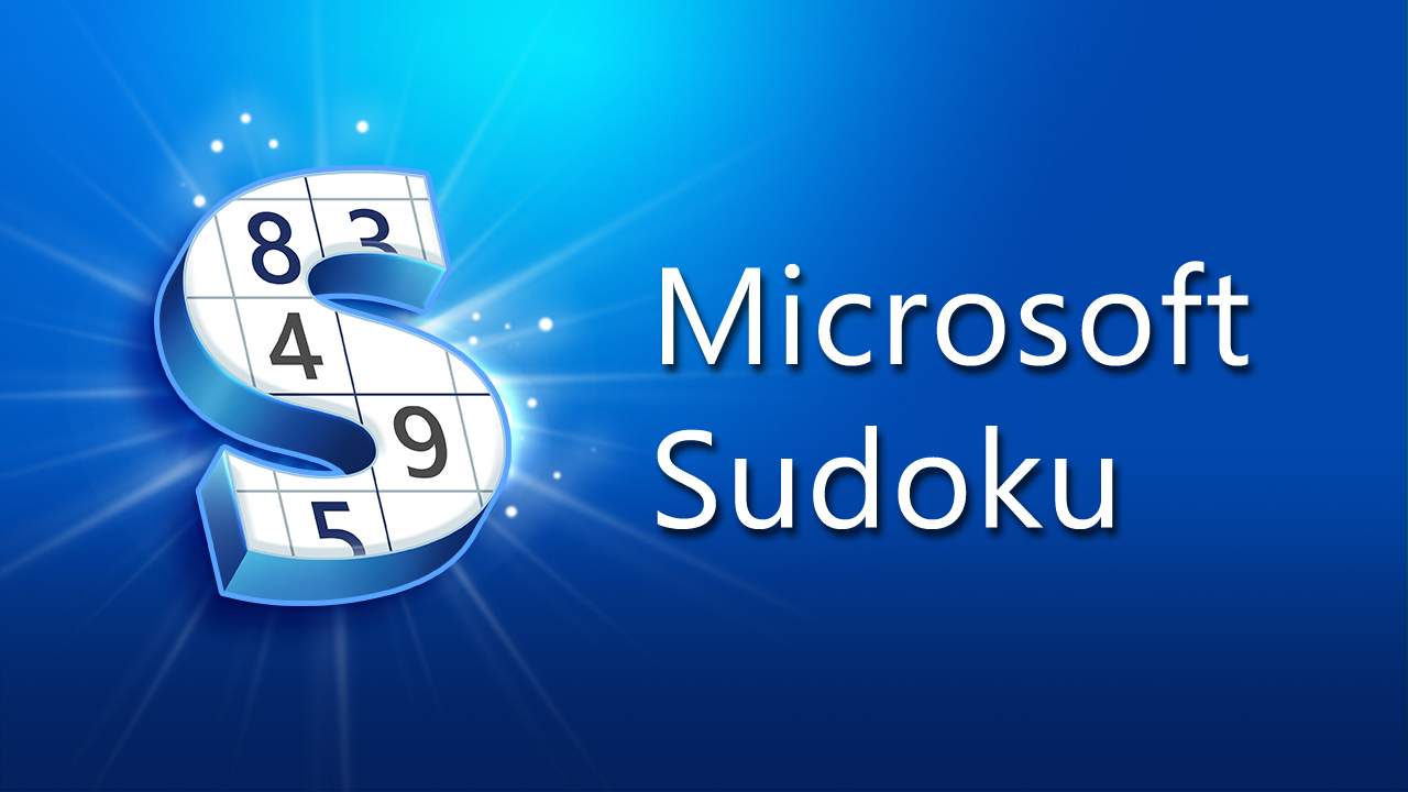 Image Microsoft Sudoku
