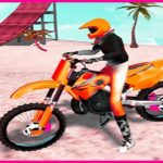 Motocross Beach Jumping Bike Stunt Game