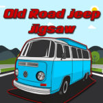 Old Road Jeep Jigsaw