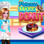 Princess Make Donut