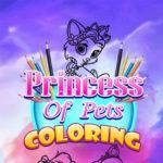 Princess Of Pets Coloring