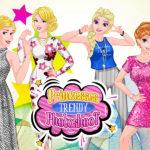 Princesses Trendy Photoshoot