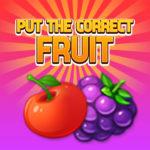 Put The Correct Fruit