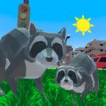Raccoon Adventure City Simulator 3D