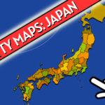 Scatty Maps Japan