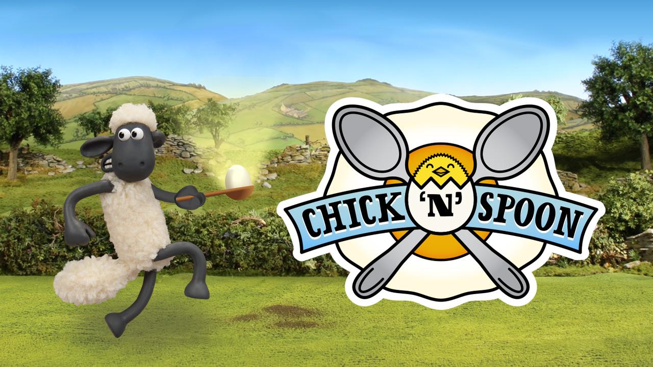 Image Shaun The Sheep Chick n Spoon
