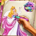Sleepy Princess Coloring Book