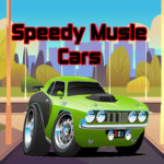 Speedy Musle Cars Jigsaw