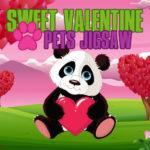 Sweet Valentine Pets Jigsaw
