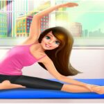 Gym Fitness Workout Girl