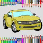 American Cars Coloring Book
