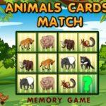 Animals Cards Match