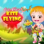 Baby Hazel Kite Flying