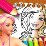 Barbie Doll Coloring Book