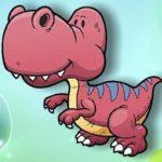 Cartoon Dinosaur Memory Challenge