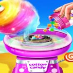Cotton Candy Shop Cooking Game