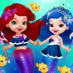 Cute Mermaid Dress Up Game for Girl