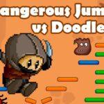 Dangerous Jump vs Doodle Jump