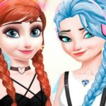 Frozen Dress Up Makeup