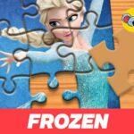 Frozen Jigsaw Puzzle Planet